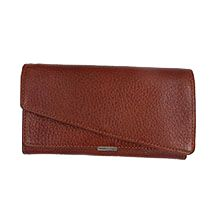 کیف پول چرم طبیعی زنانه مدل کارینو کد WCH058