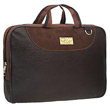 کیف دستی همایشی طرح چرم P9 با ضربه گیر لپ تاپ 15.6 اینچی