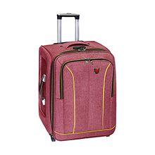 چمدان مسافرتی سایز متوسط کد CM100M برزنتی چرخدار