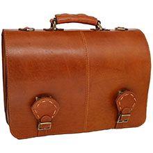 کیف اداری چرم طبیعی مدل CH4261
