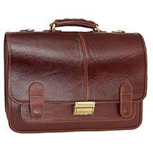 کیف اداری چرم طبیعی مردانه CH4267