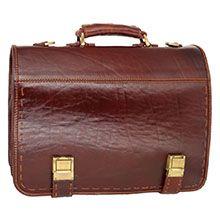 کیف اداری چرم طبیعی دست دوز CH4269
